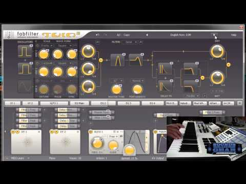 Fabfilter Twin 2 synth review - SoundsAndGear