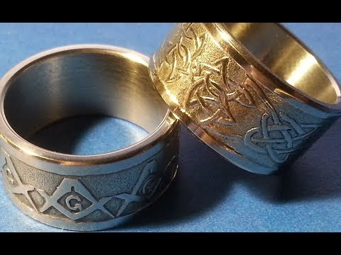 Making a pattern on the rings
