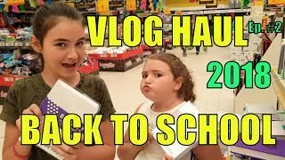 HAUL BACK TO SCHOOL 2018 VLOG  Ep. 2 By Marghe Giulia Kawaii