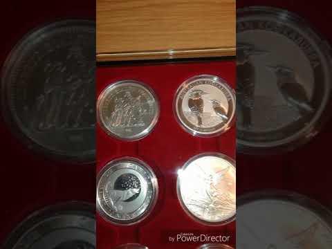 Primera colección Onzas plata 999 bullion silver ounce Coín