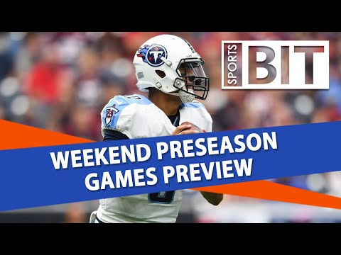 Saturday Preseason Card Rundown | Sports BIT | NFL Betting Analysis