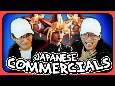 YOUTUBER REACT TO WEIRD, FUNNY AND COOL JAPANESE COMMERCIALS