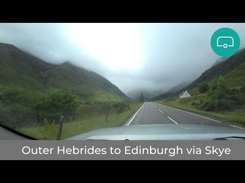 Outer Hebrides To Edinburgh Via The Isle Of Skye & Dalwhinnie A9