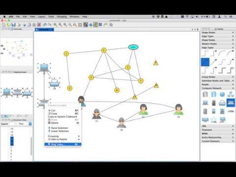 Download Yed un logiciel pour dessiner des graphes (éditeur de graphes)