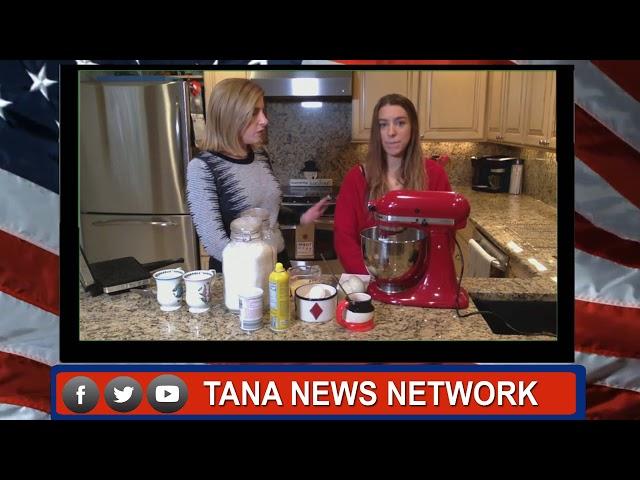 HeyTana Live TNN  Tana's Grandma's Pizzelle Recipe