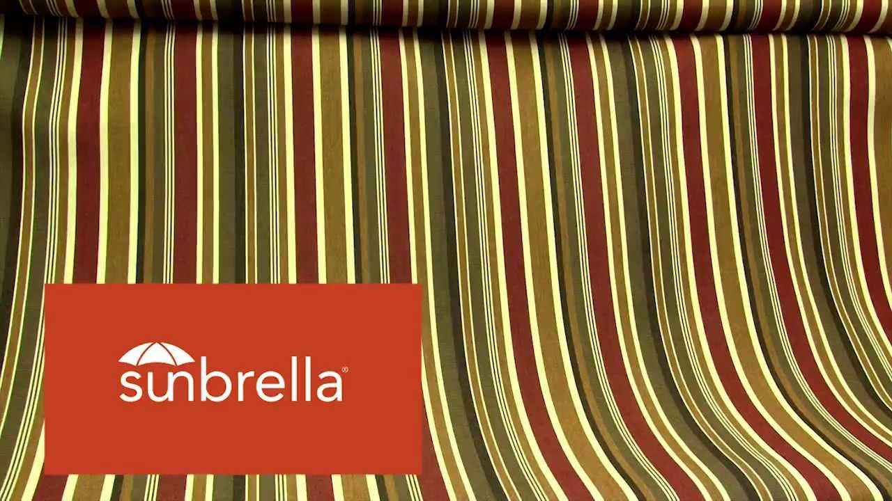 Sunbrella Brannon Redwood Furniture Fabric 5612 0000