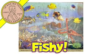 Underwater Sea Creatures Lights Camera Interaction Wood Jigsaw Puzzle Stop-motion Animation Fun