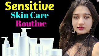 Skin Care Routine for Sensitive Skin | Get Rid of Rashes, Redness, Bumps | AVNI