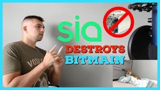 Siacoin Breaks Millions of Dollars of Cryptocurrency ASIC Miners | Blake2b SC Fork