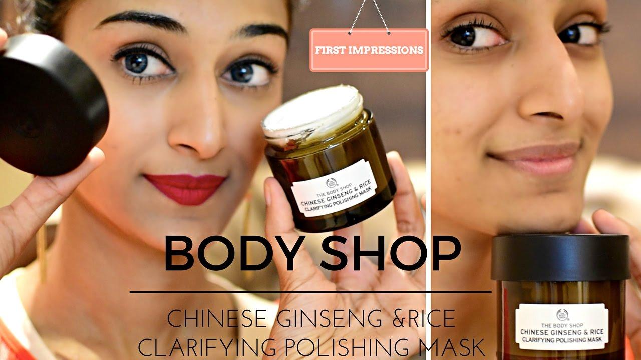 the body shop ansiktsmask test