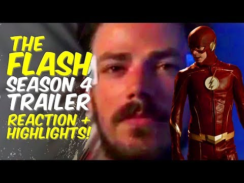 The Flash Season 4 Trailer REACTION! + Highlights Discussion! Lets Talk!