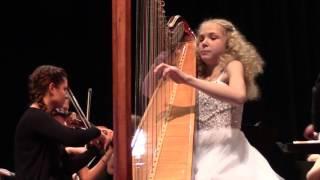 Boieldieu Harp Concerto performed by Alisa Sadikova 23.04.2017