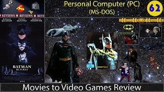 Movies to Video Games Review -- Batman Returns (PC/DOS)