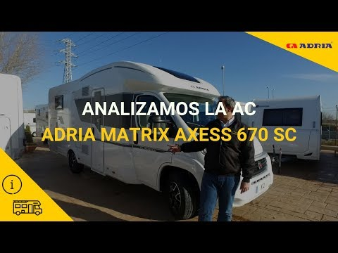 Analizamos La Adria Matrix 670 SC