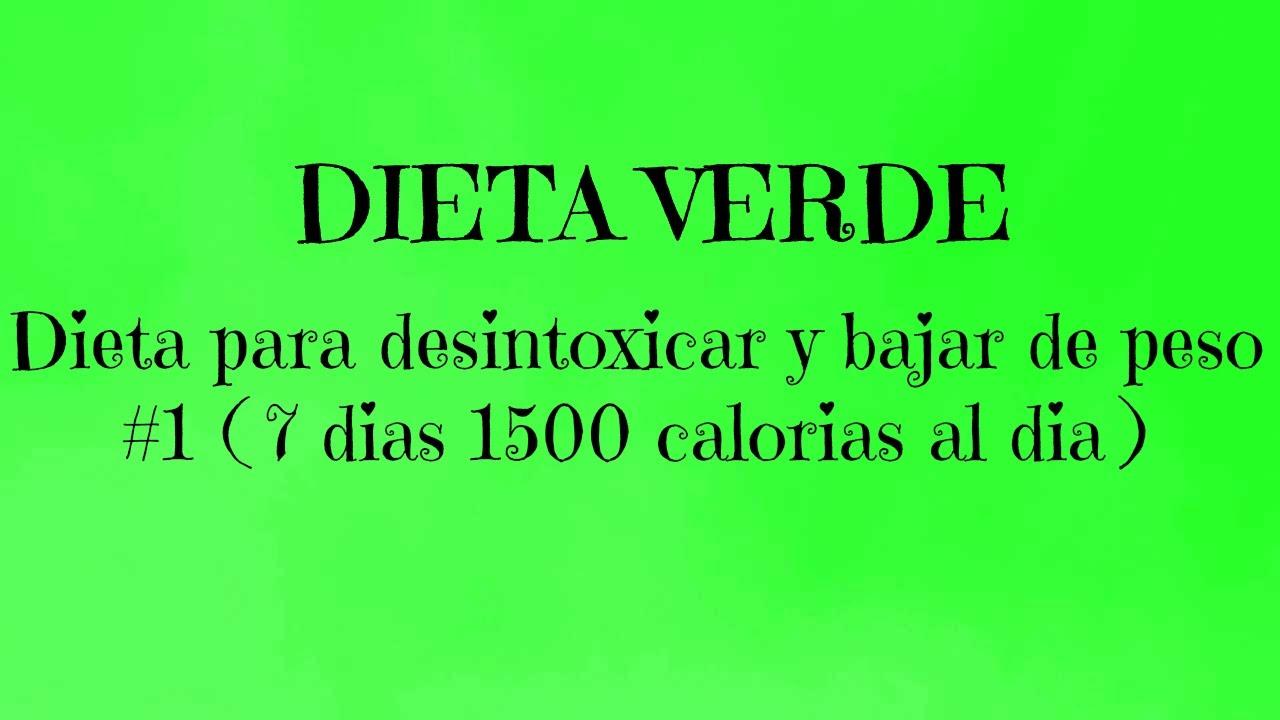 dietas desintoxicantes para bajar de peso