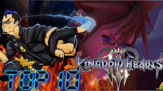 Top 10 Hopes for Kingdom Hearts 3