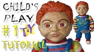 Детские игры (2019) Чаки (Бадди) из пластилина Туториал 1 Childs play (2019) Buddy Tutorial 1