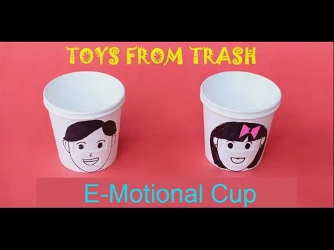 Emotional Cup   Hindi   Fun with Paper Cups