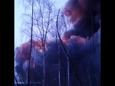 Пожар на фабрике. ИВАНОВО. Есть погибшие.