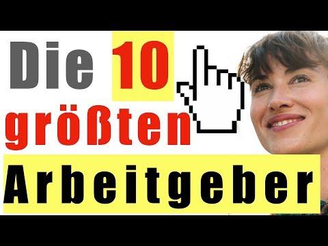 Die 10 GRÖßTEN Arbeitgeber Deutschlands 🇩🇪💼 | Meiste Mitarbeiter