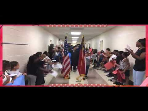 Graduation Walk 2019: The Middle College at GTCC Greensboro at Bessemer Elementary