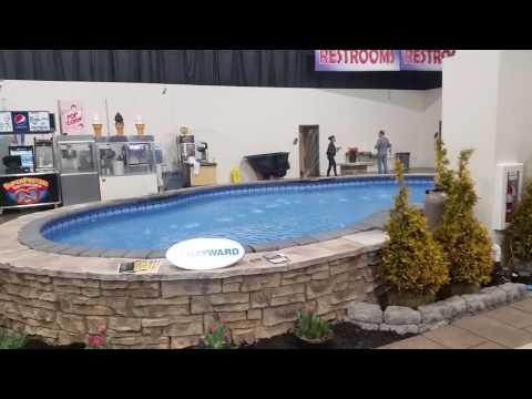 Blue Hawaiian Pools of Michigan Novi Pool and Spa Show