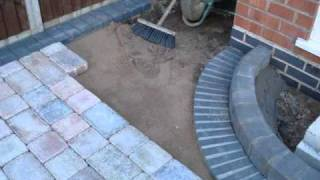 Building A Driveway With Marshalls Tegula Block Paving