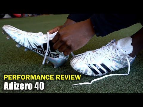 ADIDAS Adizero 40 Football Cleats: On-Foot Review