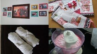 Limpando a geladeira + dobrando toalhas como de Hotel + Organizando tudo