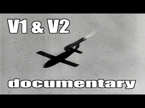 V1 and V2 flying bomb documentary