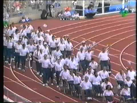 1992 Paralympic Opening Ceremonies