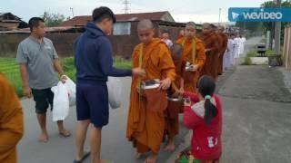 Pindapata Pabbajja Samanera at. Pubbārāma Buddhist Centre (PBC)  Part. 4