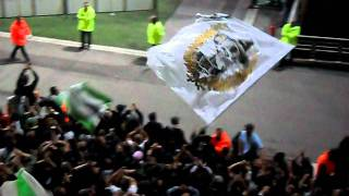 Derby  OL/ASSE 2011-2012 0-2 incident kop sud