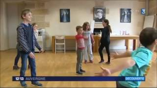 Les activités des vacances au CNCS - France 3 Auvergne - 26/04/2017