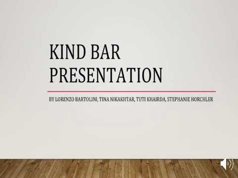 Bmgt Kind Bar Management Project Umd