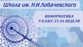 Информатика 9 класс 25-26 неделя Способы записи алгоритмов. Объекты алгоритмов