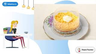 Салат Мимоза с рисом и сыром Простые рецепты в домашних условиях