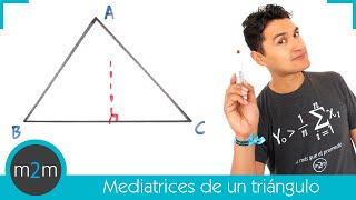 Mediatrices de un triángulo (punto notable)