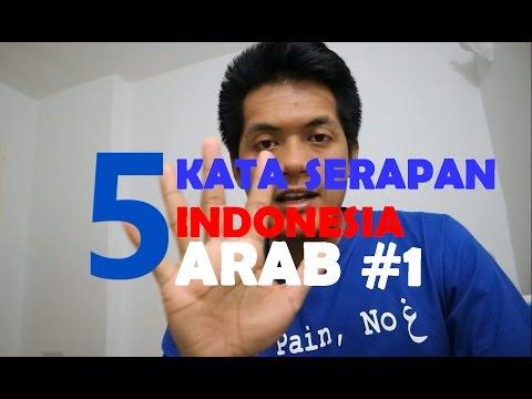 5 Kata Serapan Indonesia - Arab #1 | #ArabicFirstID - 17