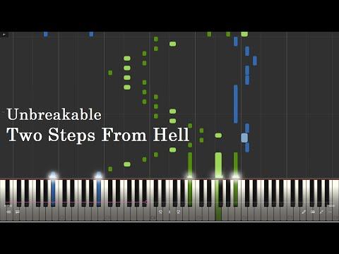 TWO STEPS FROM HELL - Unbreakable (Most Epic Piano Music Ever) [Piano Tutorial]