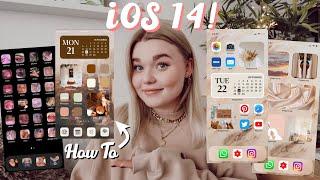 Apple iOS 14 Haฑdy umgestalten Tutorial: How to, Ideen, Inspirationen I Meggyxoxo