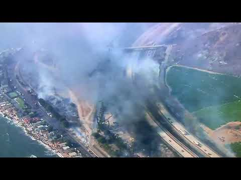 Thomas Fire: Burning the Coastal Strand