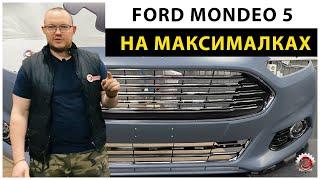 Запчасти на Ford Mondeo 5. Как встает неоригинальный бампер. Часть 1.