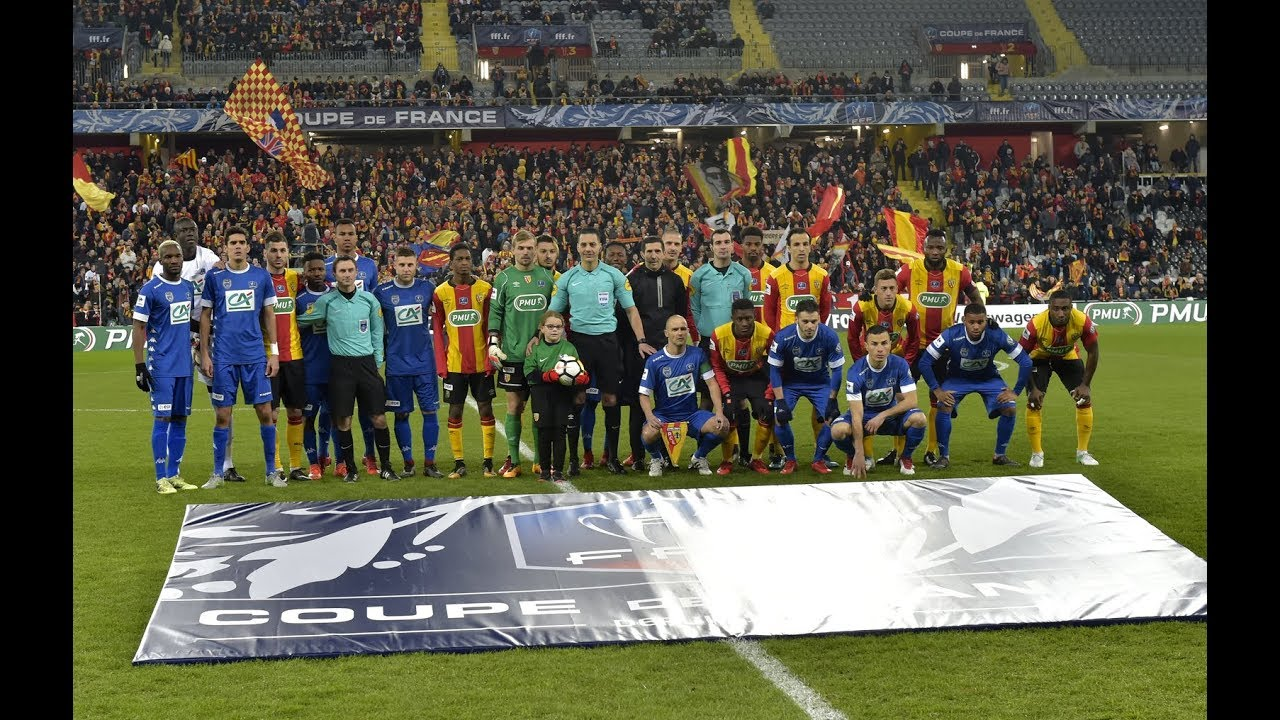 coupe de france - rc lens 1-0 estac u23a5r u00e9sum u00e9 du match