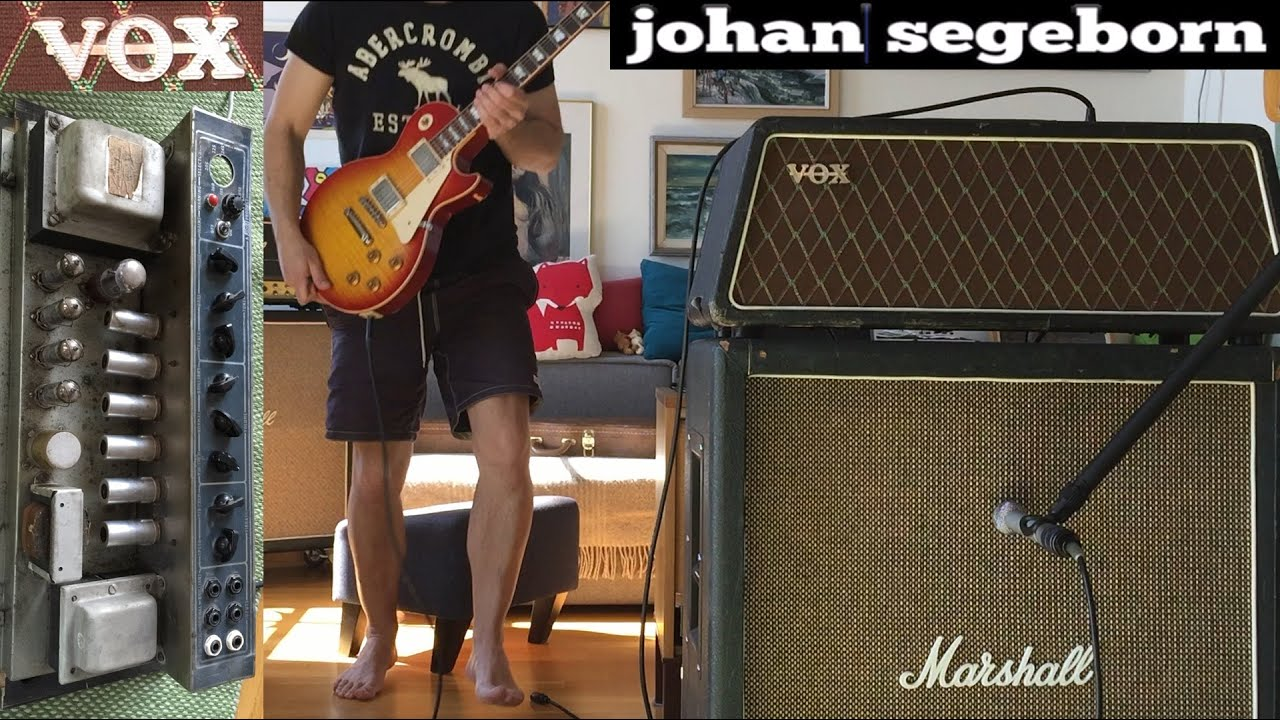vox ac30 trapezoid head youtube. Black Bedroom Furniture Sets. Home Design Ideas