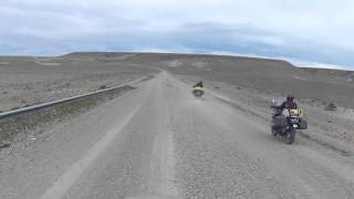 Patagonia Tour: Day 8 - Riding the gravel on Ruta 40 across the Argentinian Steppe