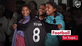 Football For Help | Arsenal support YUWA project in India