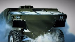 BAE Systems - Alligator 6x6 Armoured Patrol Vehicle [480p]