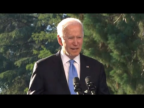 Biden speaks after meeting with Putin in Geneva