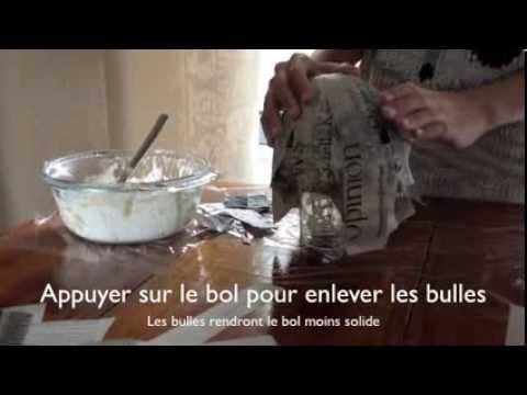 Tuto bricolage faire son propre bol facile youtube - Bricolage facile a faire pour adulte ...